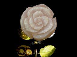 blossom rose-blk granite
