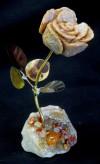 butter m - w al with carmelian & misc b
