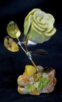 gr beige m = butter m with y q & citrine & tigers eye & peridot b