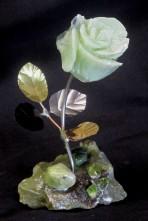 gr brucite - gr ss with jade & peridot b