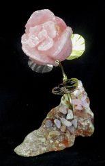rose-pink opal