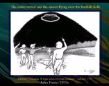 windowed saucer at fairbary football game jpg
