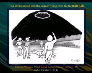 windowed saucer at fairbary football game jpg
